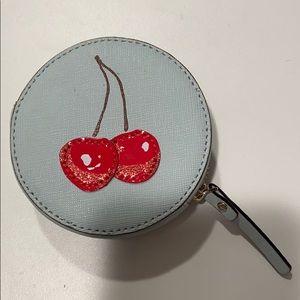 kate spade magnolia bakery cherry coin purse!!!!!